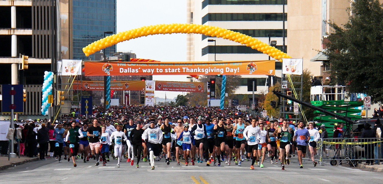 Capital One Bank Dallas YMCA Turkey Trot
